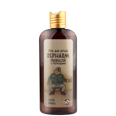 Repharm Beer Peptide Shower Gel