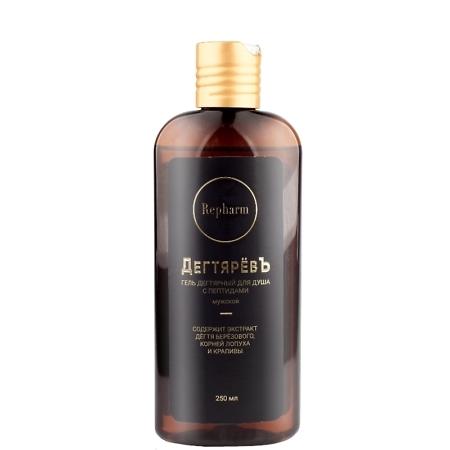 Repharm Birch Tar Peptide Shower Gel For Men