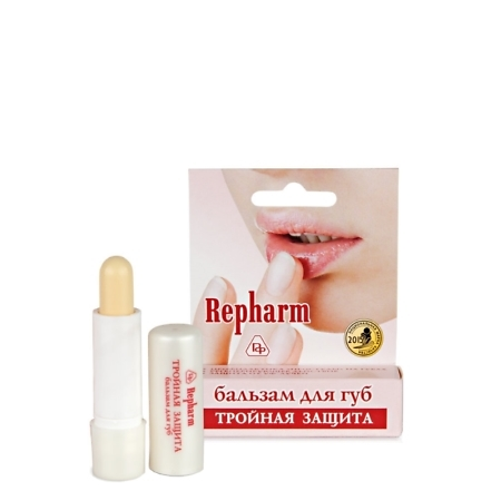 Triple Protection Antiviral Sodium Hyaluronate Chapstick Lip Balm