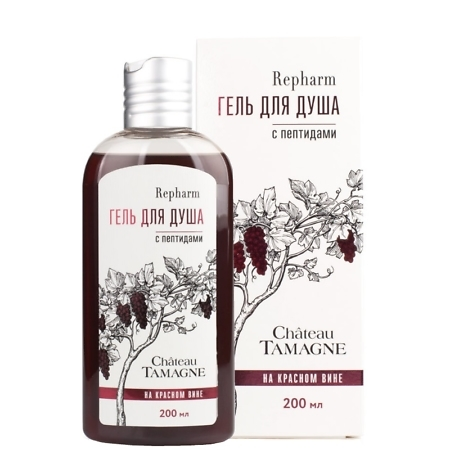 Repharm Red Wine Peptide Shower Gel
